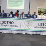The New Executive Committee Of Lesotho National Olympic Committee